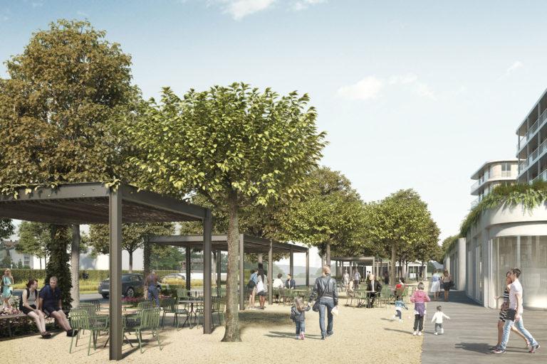 Espaces publics de Saint-Mathieu
