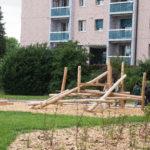 Renouvellement des cours et jardins: Route de Villars